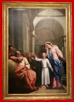 Antoine COYPEL Jésus parmi les docteurs