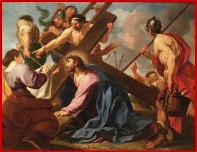 Ecole de LE BRUN Jésus et Véronique
