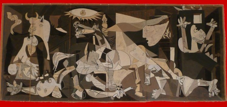 GUERNICA-carton de tapisserie 7m x 3m