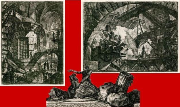 PIRANESE Prisons imaginaires : la tour, les suppliciés