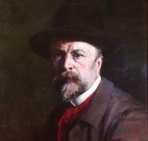André CROCHEPIERRE Autoportrait