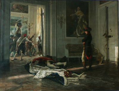 REALIER-DUMAS Bonaparte aux Tuileries