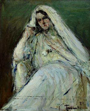 Vladimir de TERLIKOWSKI jeune mariée berbère